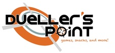 Dueller's point logo
