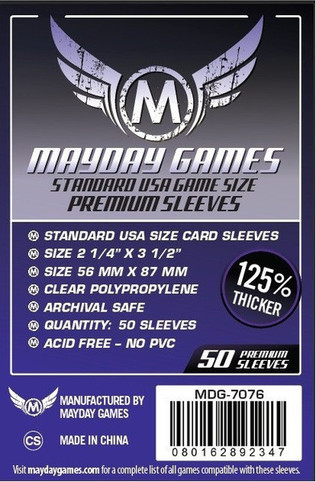 Card sleeves standard usa card sleeves 56x87mm 2 grande