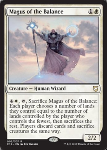 C18 5 magus of the balance
