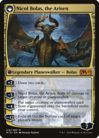 M19 218 nicol bolas the arisen