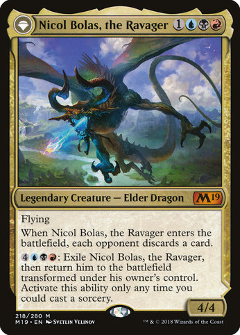 M19 218 nicol bolas the ravager