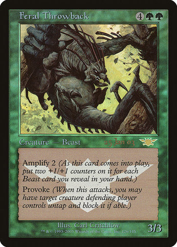 Ppre 19 feral throwback