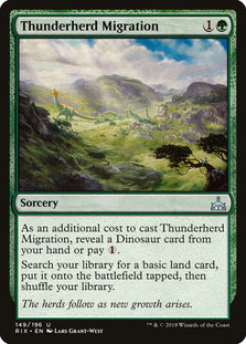 Rix 149 thunderherd migration