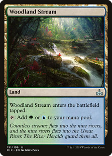 Rix 191 woodland stream