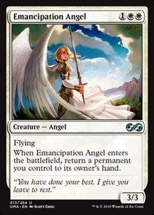 Uma 15 emancipation angel