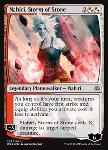 War 233 nahiri storm of stone