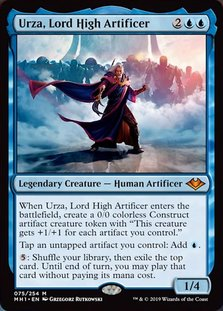 Mh1 75 urza lord high artificer