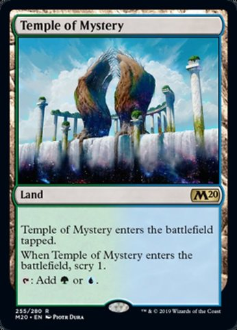 M20 255 temple of mystery