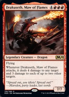 M20 136 drakuseth maw of flames