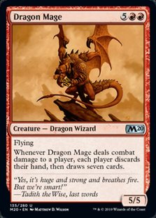 M20 135 dragon mage