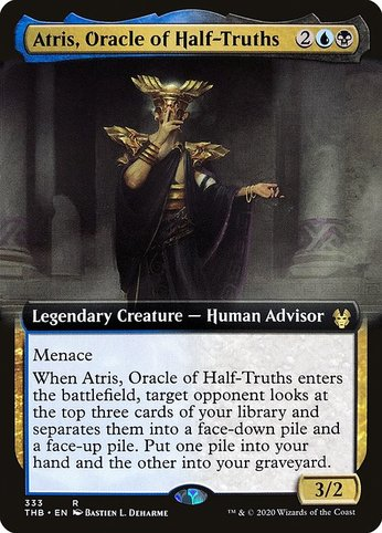 Thb 333 atris oracle of half truths